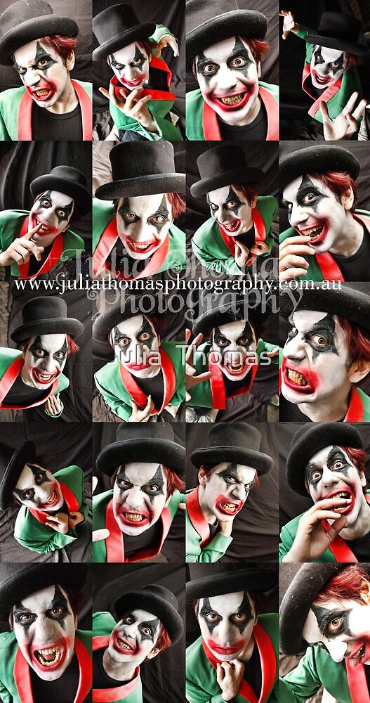Bubblez The Evil Clown by Julia  Thomas