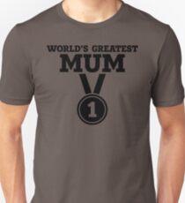 World's Greatest Mum Unisex T-Shirt