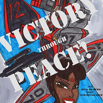 Victory Through Peace 2 by ronwoods2
