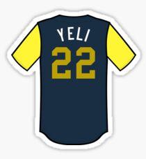 Christian Yelich Players' Weekend Sticker