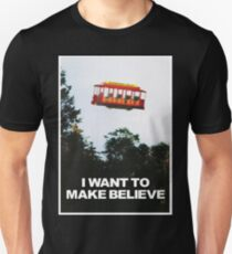 I WANT TO MAKE BELIEVE X-Files x Mister Rogers Creativity Poster Unisex T-Shirt