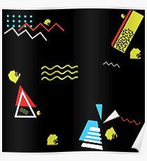PEPE Wave - Retro 80's AESTHETICS Poster