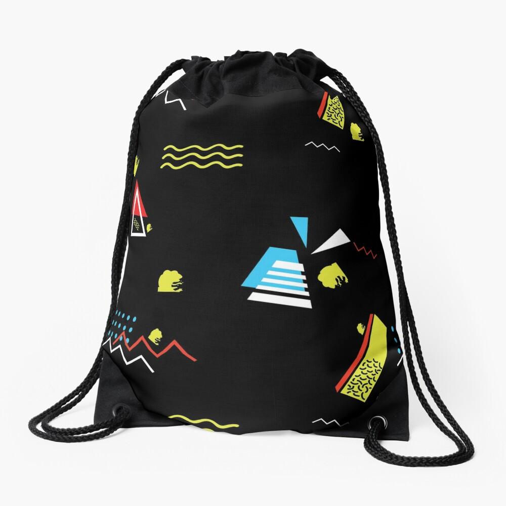 PEPE Wave - Retro 80's AESTHETICS Drawstring Bag