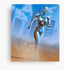 The Desert Runners Canvas Print