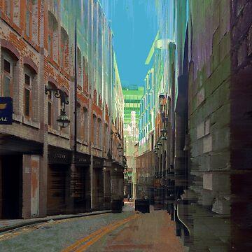 Needless Alley - Birmingham (Set 3) by takeshino