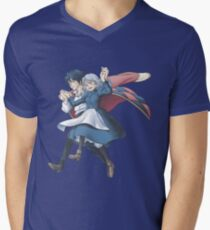 Come Fly With Me (no clouds version) Men's V-Neck T-Shirt