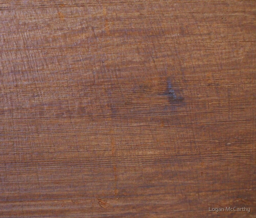 Wood Desk 1 by Logan McCarthy