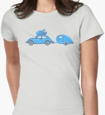 Recreation Leave Womens Fitted T-Shirt