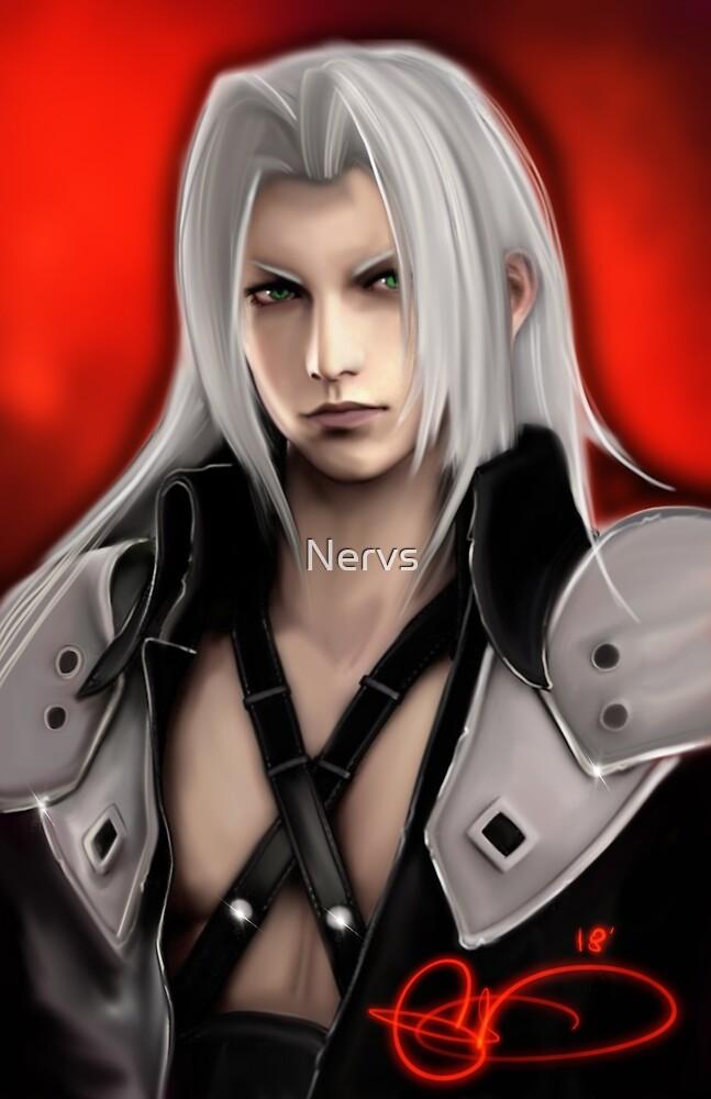 sephiroth by Nervs