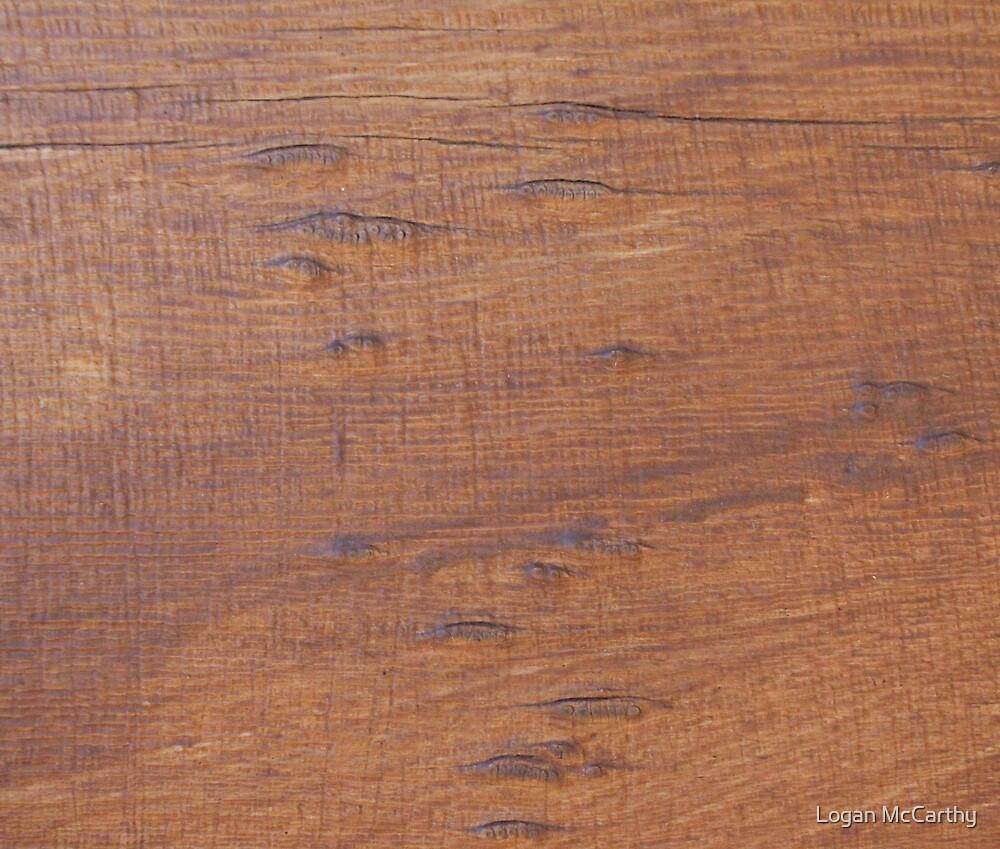 Wood Desk 2 by Logan McCarthy