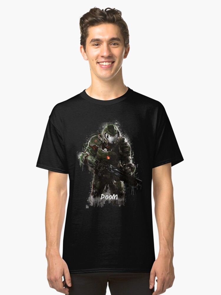 Doom Classic T-Shirt Front
