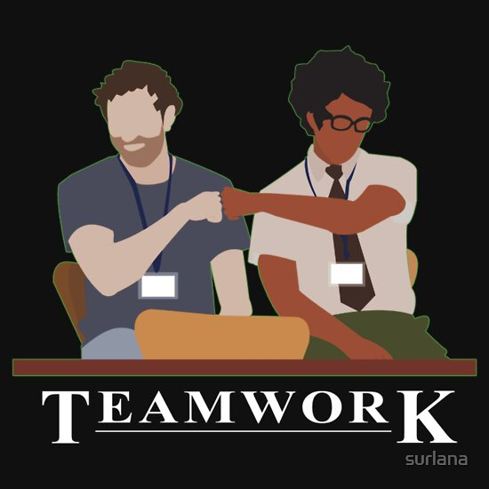 TShirtGifter presents: IT Crowd Teamwork