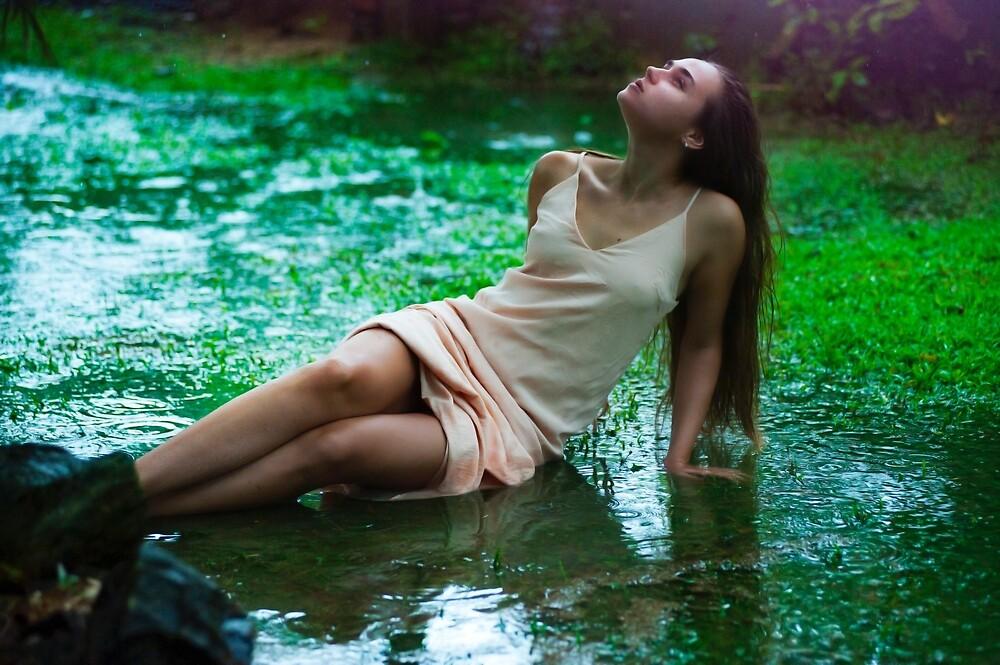 beautiful girl by Iskanderox