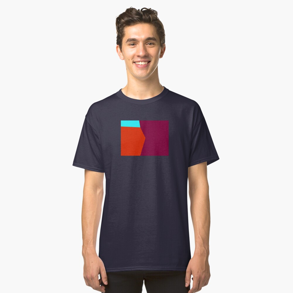 Abstract Color 2 Classic T-Shirt Front