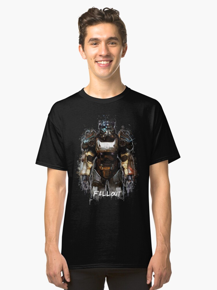 Fallout  Classic T-Shirt Front