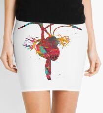 Heart anatomy Mini Skirt