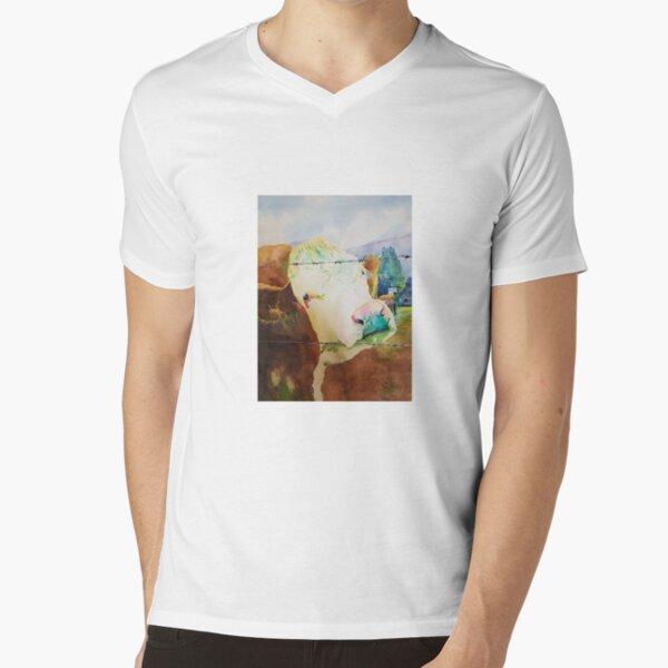 Hard Times V-Neck T-Shirt