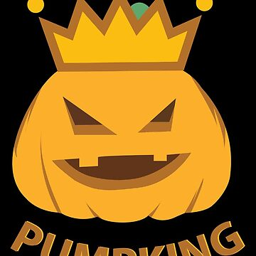 Pumpkin King | Face Crown Halloween by DesDesigner