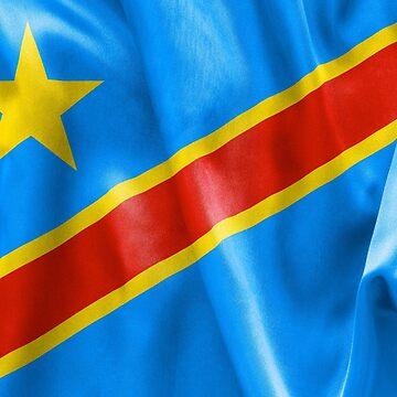 Democratic Republic of the Congo Flag by MarkUK97