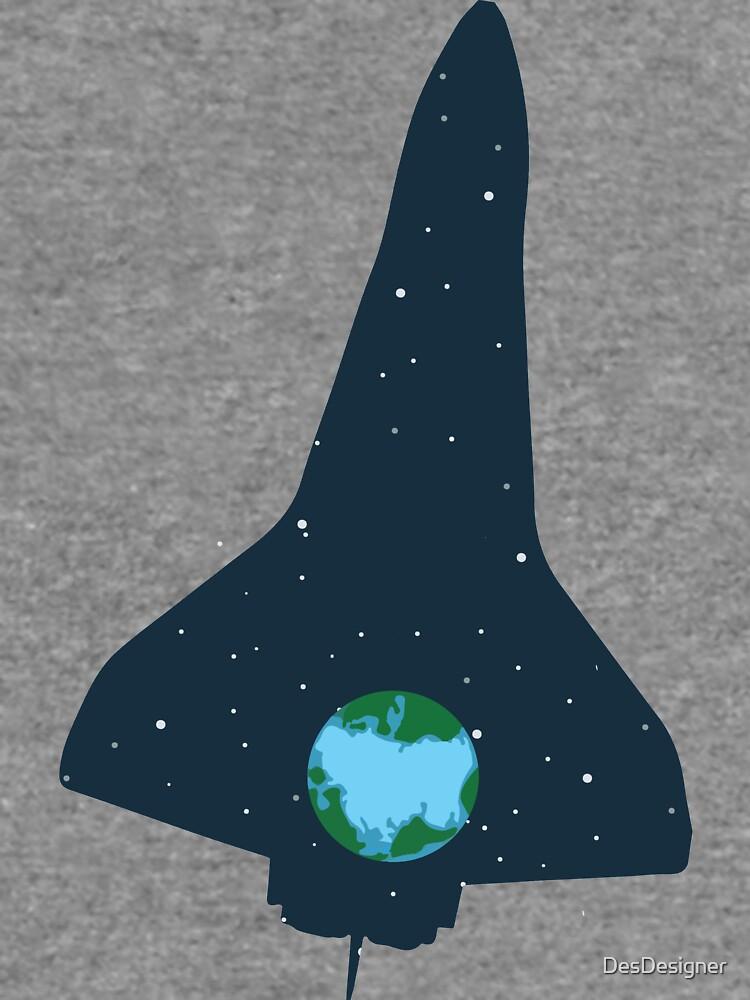 Spaceship | rocket space earth universe by DesDesigner