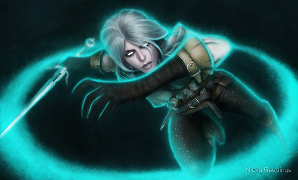 Ciri Witcher 3 by Nicky Geerlings