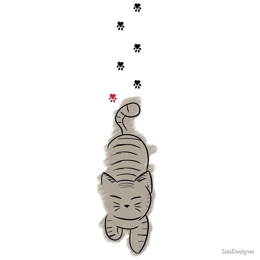 Cat | paw print by DesDesigner