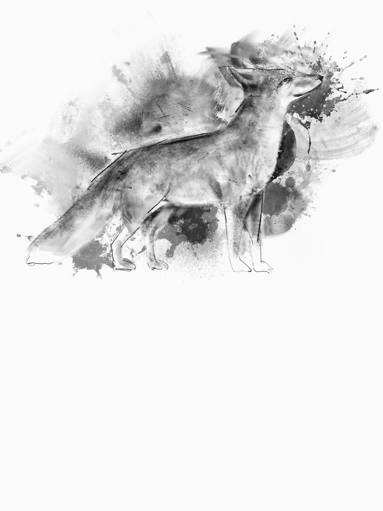 Fox Ink Illustration by Thir