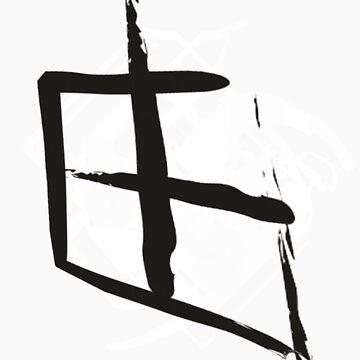 Kanji freedom by Zhenix