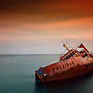Fallen Poseidon by Kostas Pavlis