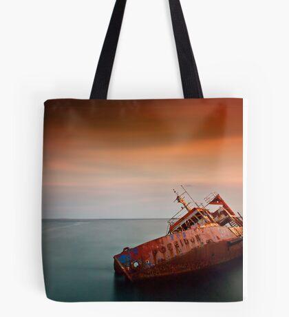 Fallen Poseidon Tote Bag