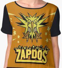 Zapdos Legendary Bird Chiffon Top