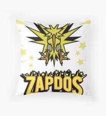 Zapdos Legendary Bird Throw Pillow