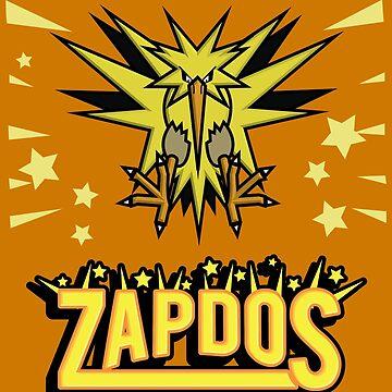 Zapdos Legendary Bird by Mrmasterinferno