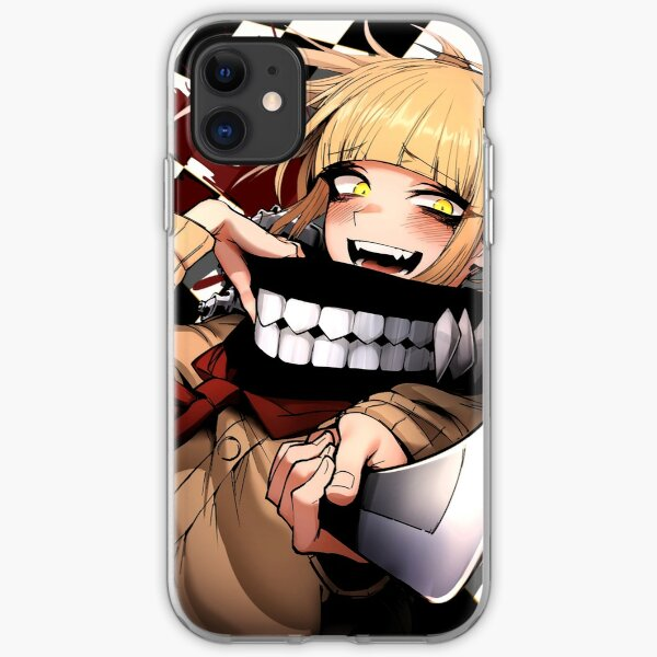 Himiko Toga - Blood & Checkers iPhone Soft Case