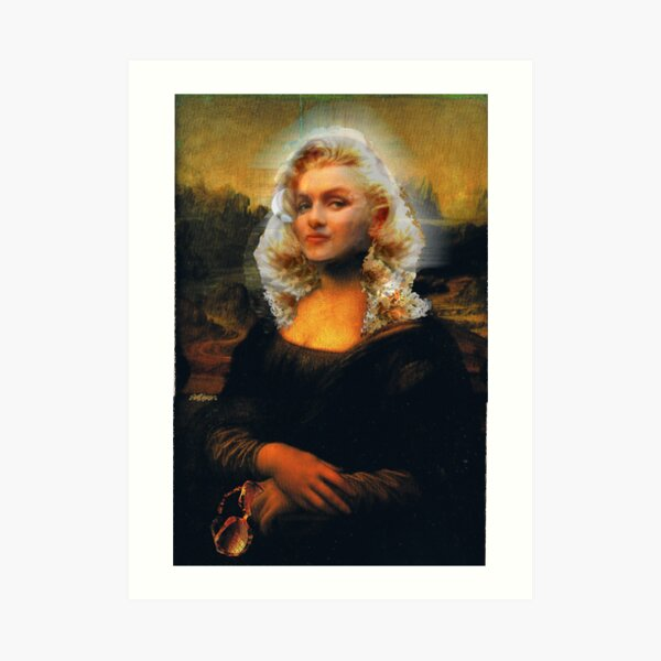 Mona Marilyn Art Print
