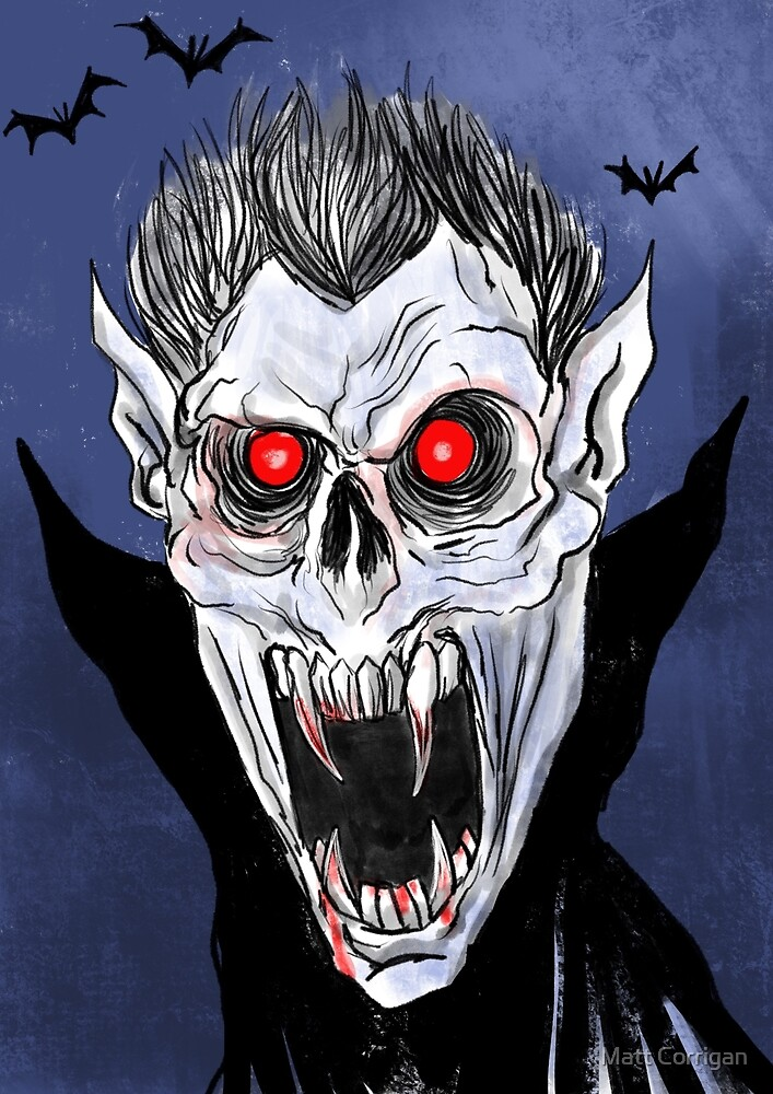 Evil Vampire by Matt Corrigan