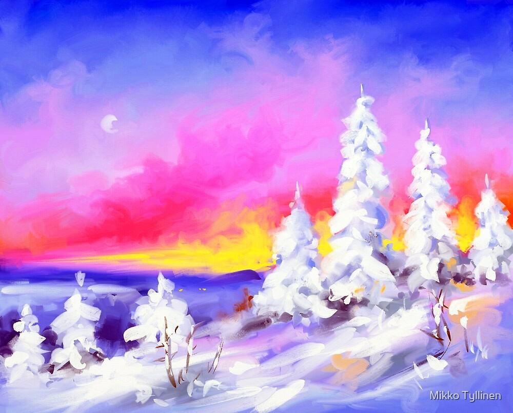 Frosty evening by Mikko Tyllinen