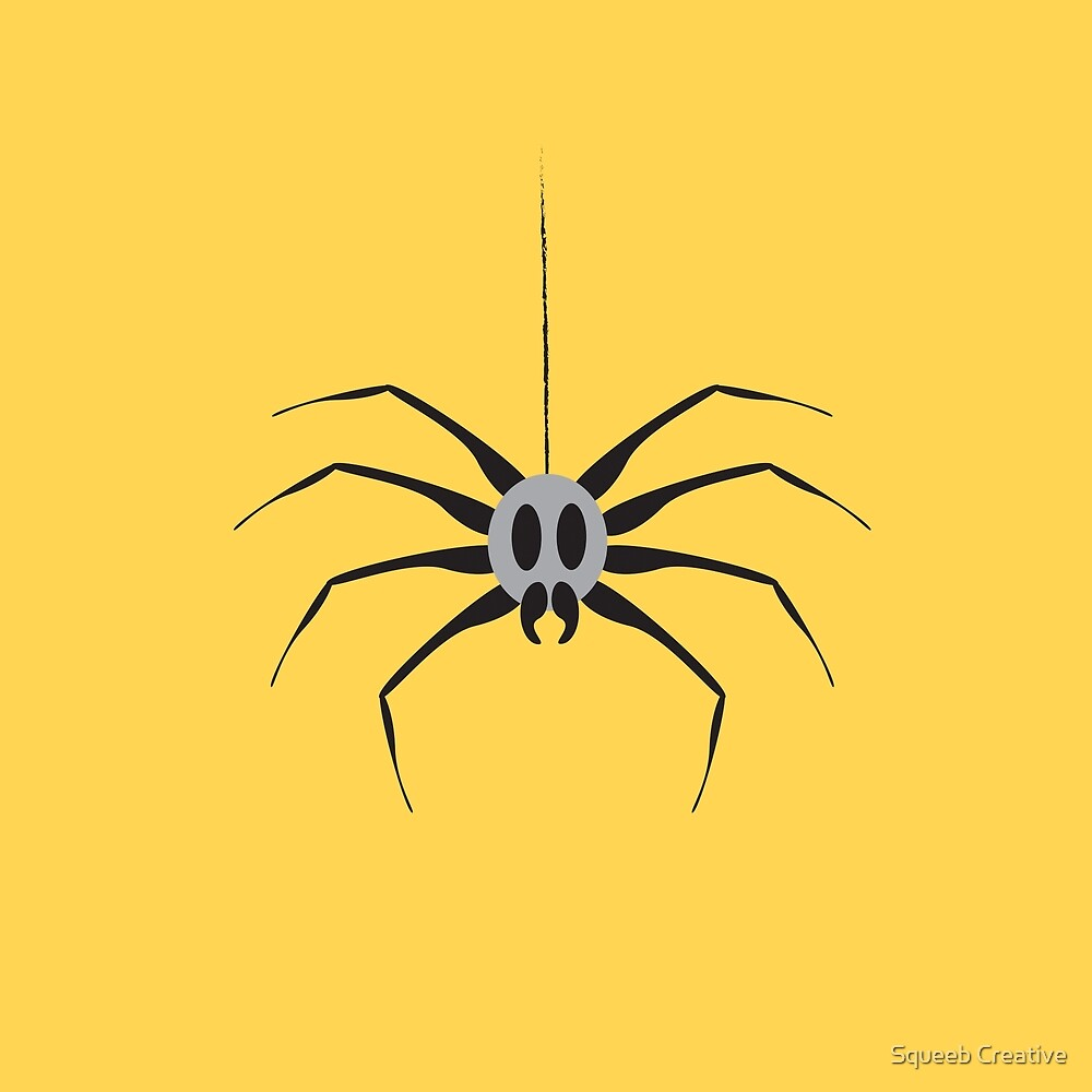 Itsy Bitsy Spider - Frank by Squeeb Creative