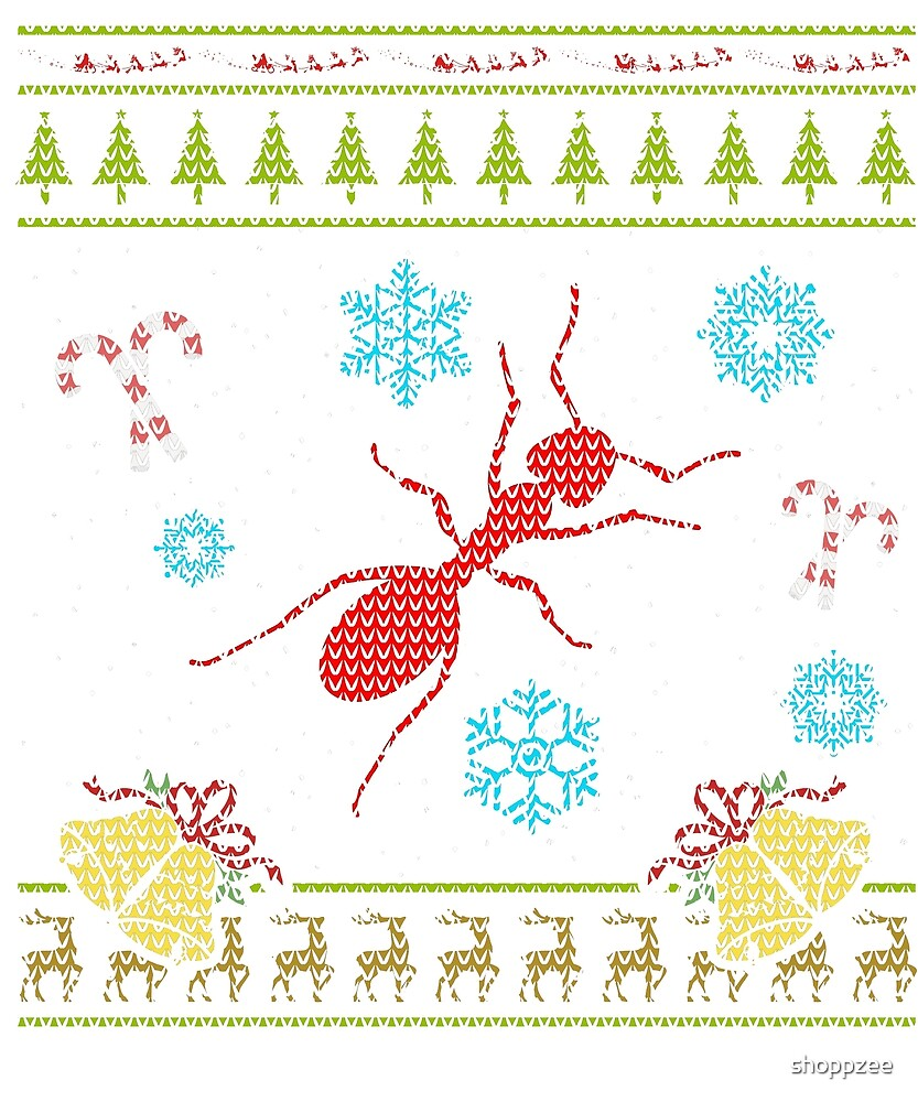 Ant As Pets Christmas Sweater Shirt by shoppzee