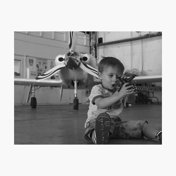Flyboy Photographic Print