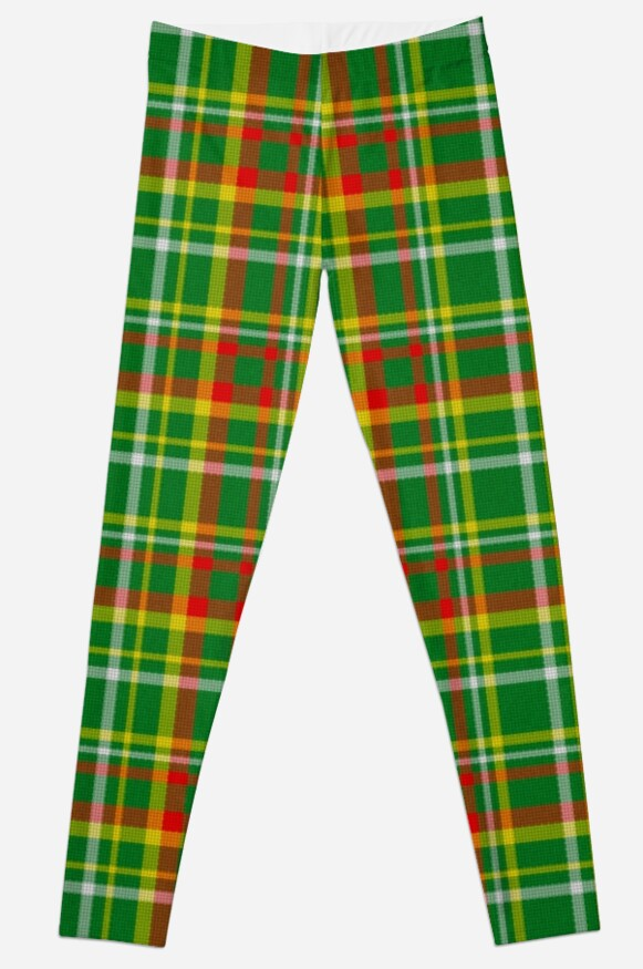 Green Red Yellow and White Plaid by MarkUK97