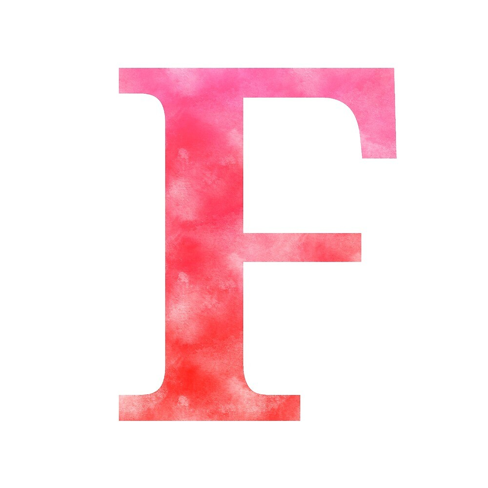 Letter F - Red by gaman