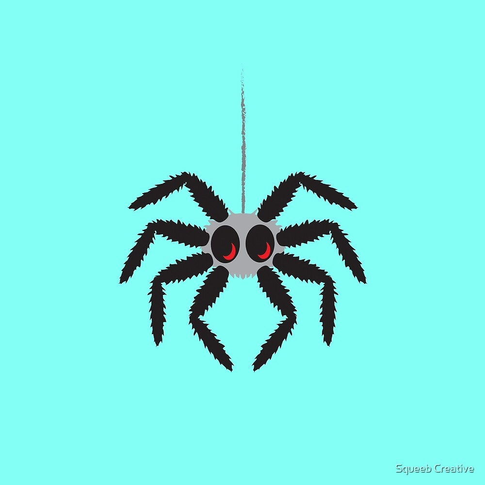 Itsy Bitsy Spider - Mike by Squeeb Creative