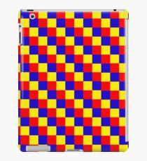 Vinilo o funda para iPad tablero de ajedrez de colores primarios