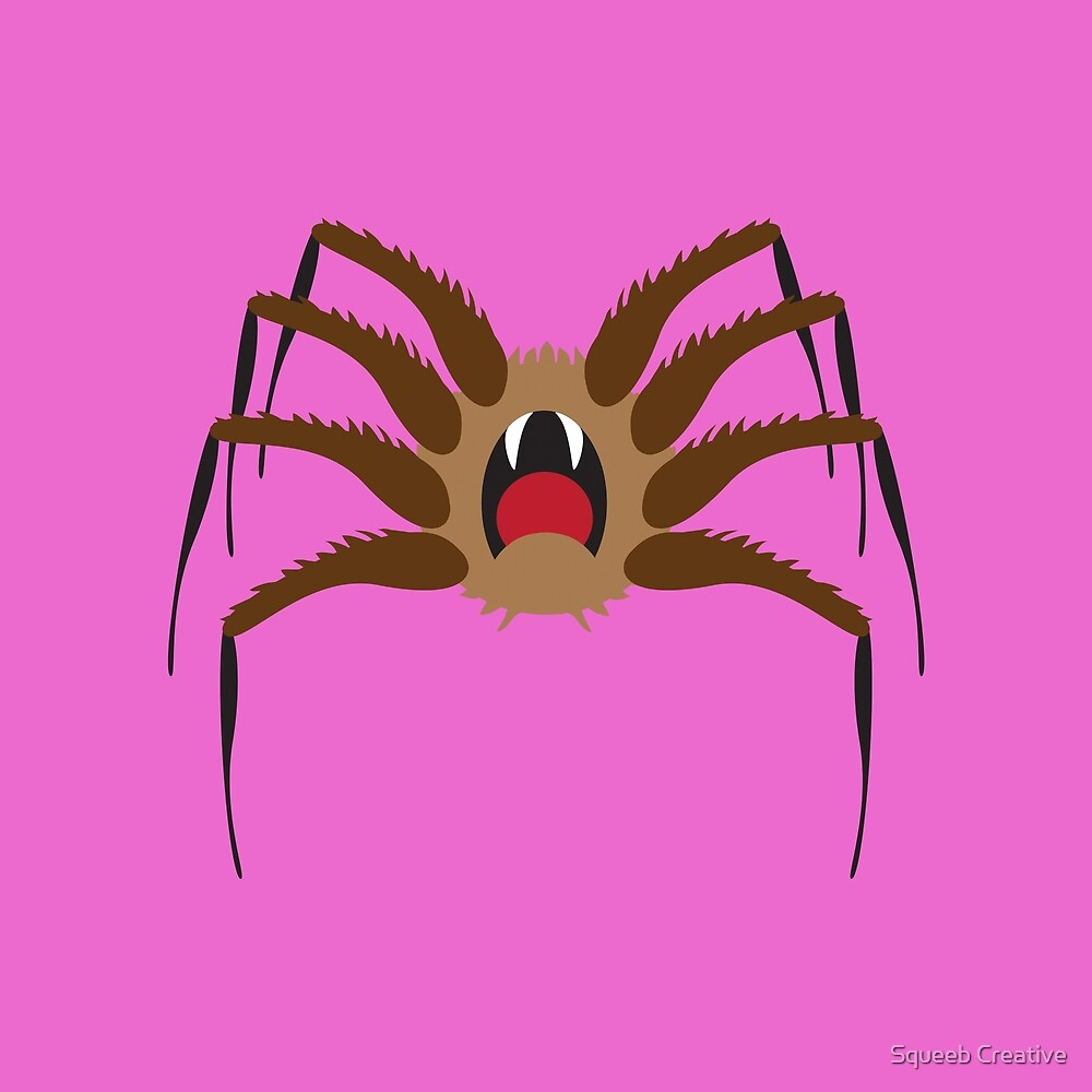 Itsy Bitsy Spider - Keith by Squeeb Creative