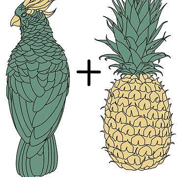 Pineapple parrot by MatthewCHRC