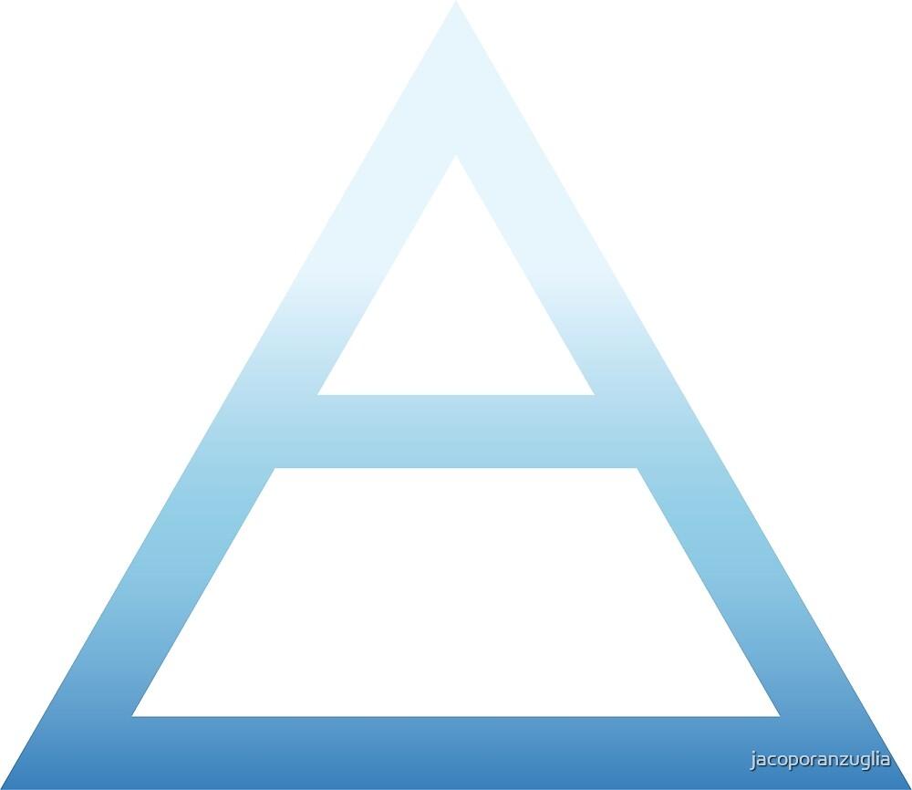 Air alchemy symbol by jacoporanzuglia