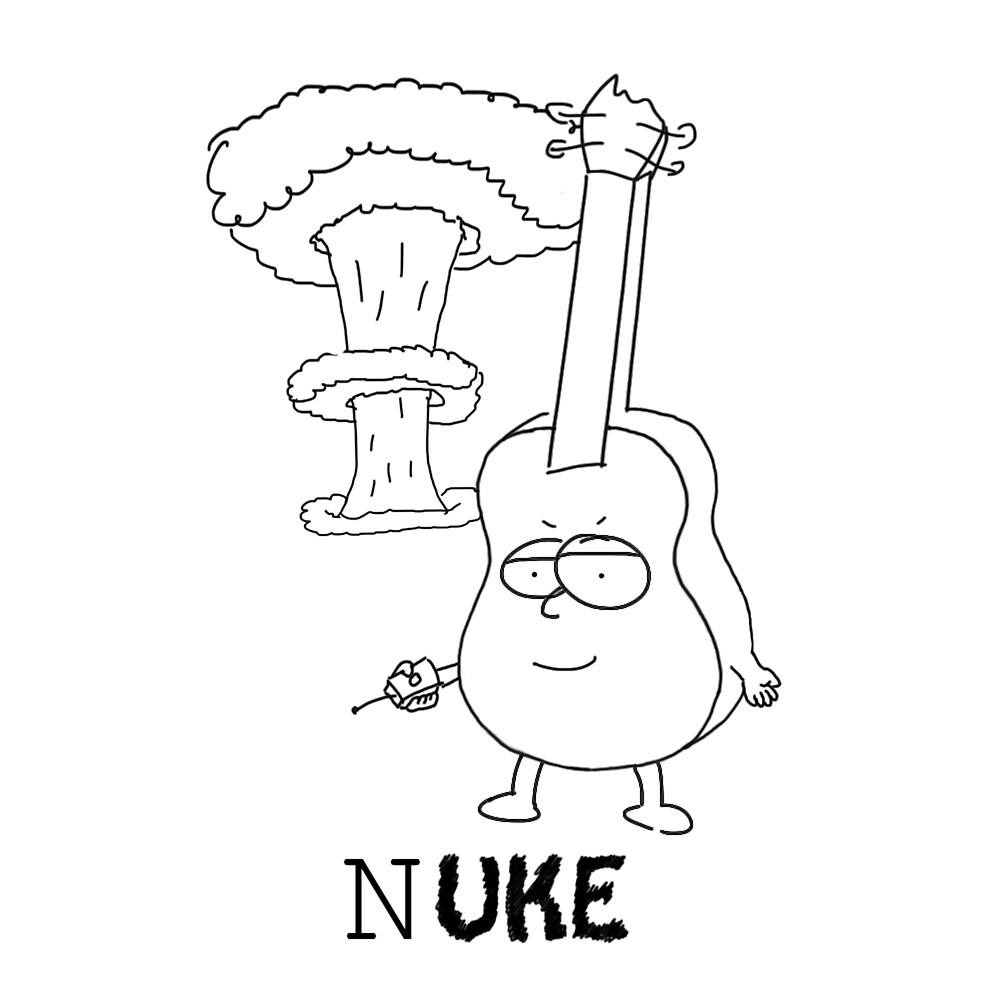 Nuke (Black logo) by Ukeledu