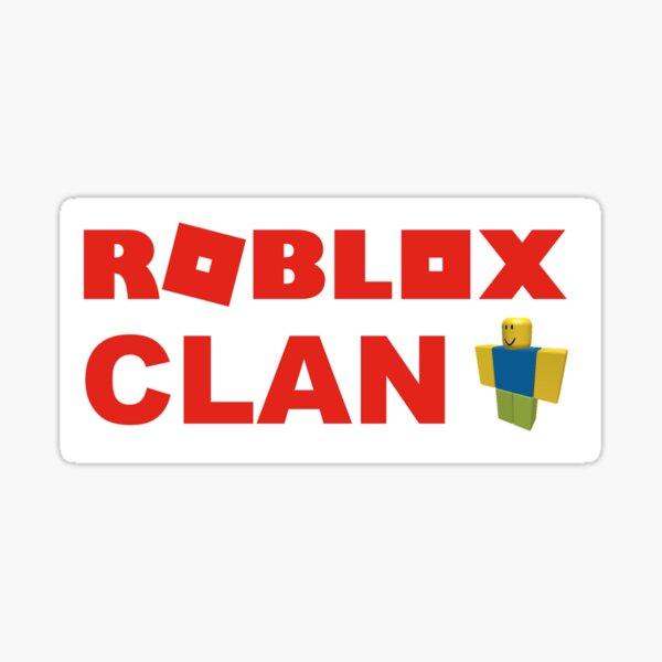 Roblox Clan Stickers Redbubble