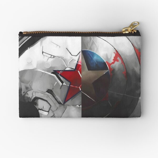 The Shield and the Soldier Zipper Pouch